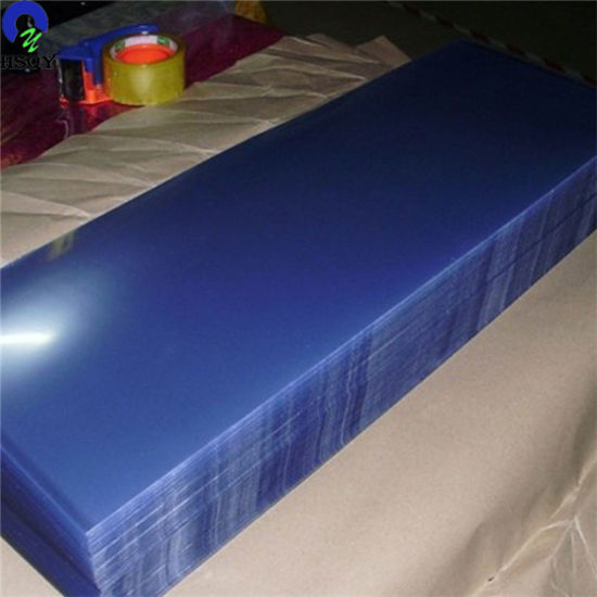 Super Clear PVC Plastic Film for Thermoforming Clamshell Packaging pictures & photos