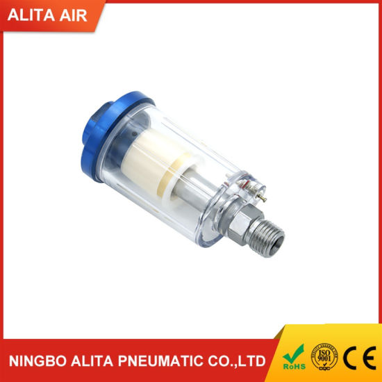 "Air Oil Water Separator Trap Filter Separator G1//4/"" Air Compressor"