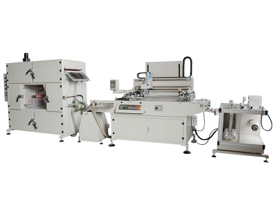 HYA56 Automatic Thick Material Series Roll to Roll Screen Printing Machine Heat Transfer Paper,Packing Label Packing Silk Screen Printer Machinery