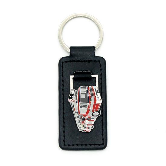 Customized Genuine Leather Key Holder Gift Craft Supply