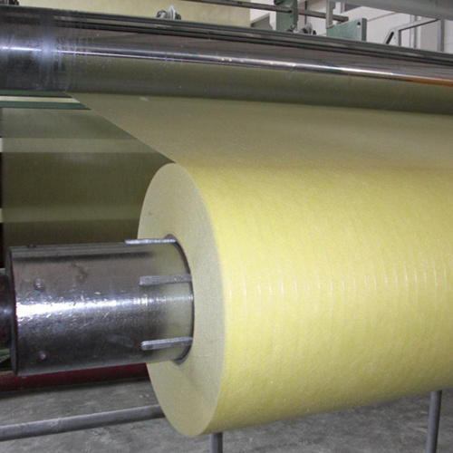 Solvent Resistance E-Glass Yellow Fiberglass Tissue Mat pictures & photos
