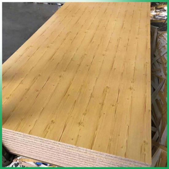 China E1 Wood Veneer Faced Melamine Faced Or Plain Particle