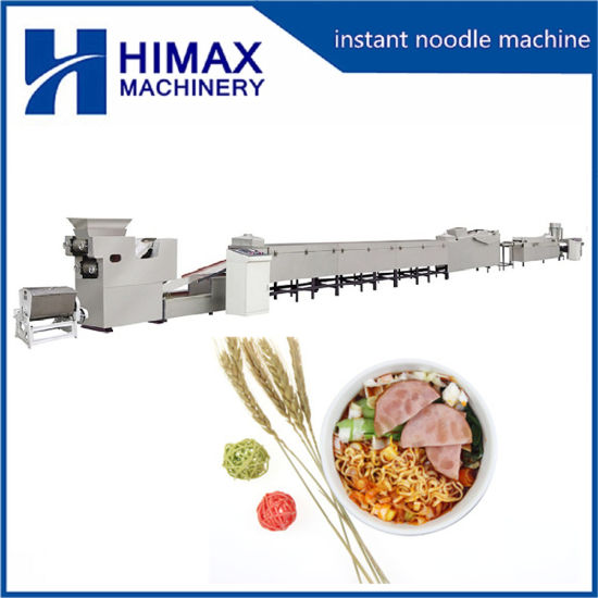 Automatic Fried Instant Noodle Maker Line Pasta Food Making Machine