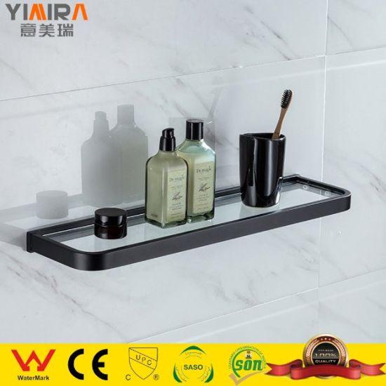 Modern Bathroom Furniture Brass Material Towel Shelf Holder Mr-T10103b