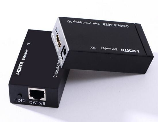 60m HDMI Extender by Cat5e CAT6 pictures & photos
