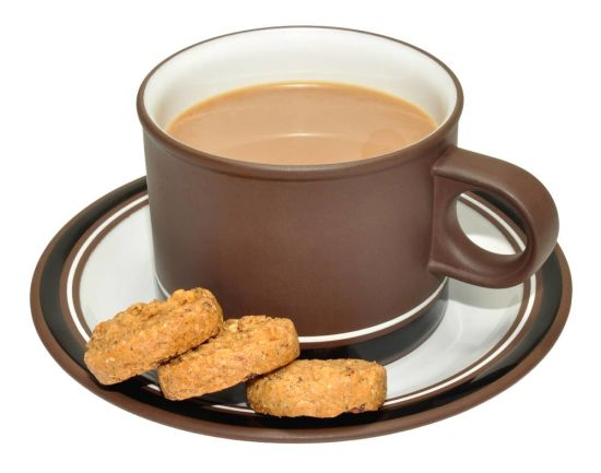 Eating Biscuits with Milk or coffee