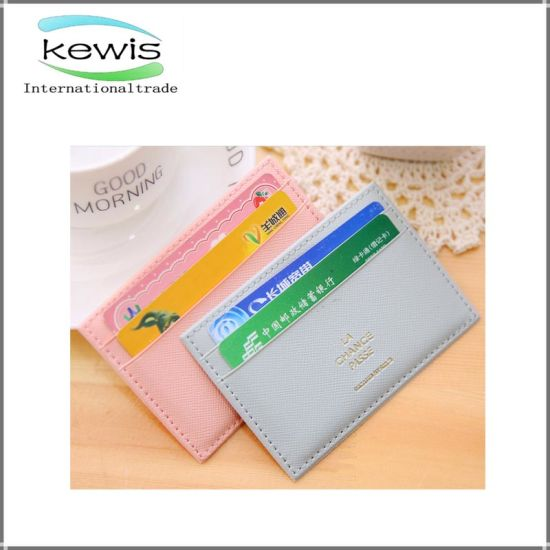 China pu leather normal size credit card holder china leather pu leather normal size credit card holder colourmoves