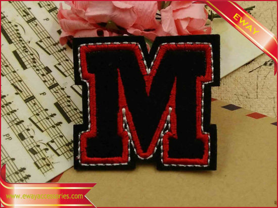 Sew on Embroidery Chenille Patch pictures & photos
