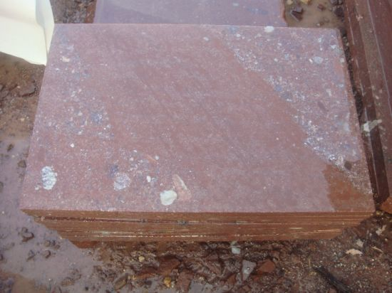 Granite Slab /Tile Red Porphyry Mushroom Stone Slab /Tile pictures & photos