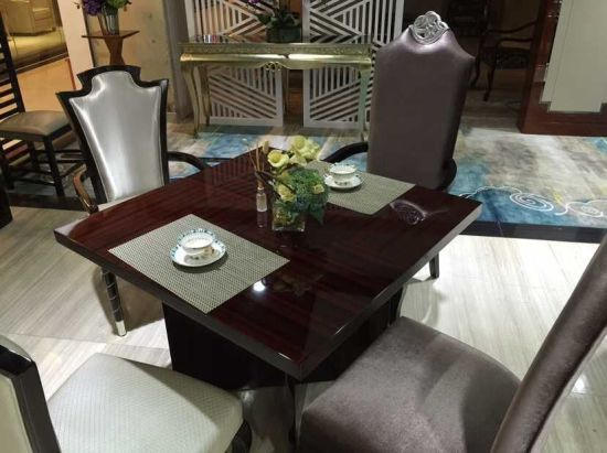 Restaurant Sofa and Table/Restaurant Furniture Sets/Hotel Furniture/Dining Room Furniture Sets/Dining Sets (NCHST-007)