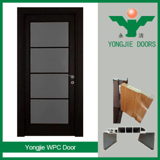 China Modern Style EcoFriendly Waterproof WPC Interior Door For - Bathroom doors waterproof