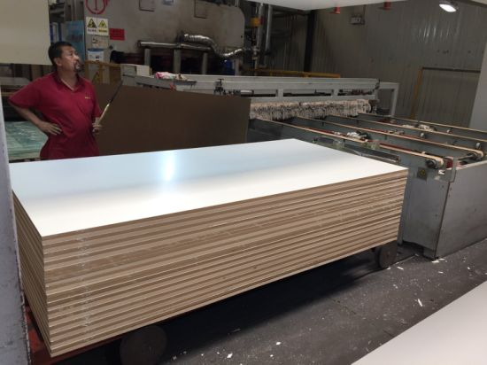Melamine Faced MDF Board with Different Colors for Building Materials and Furniture