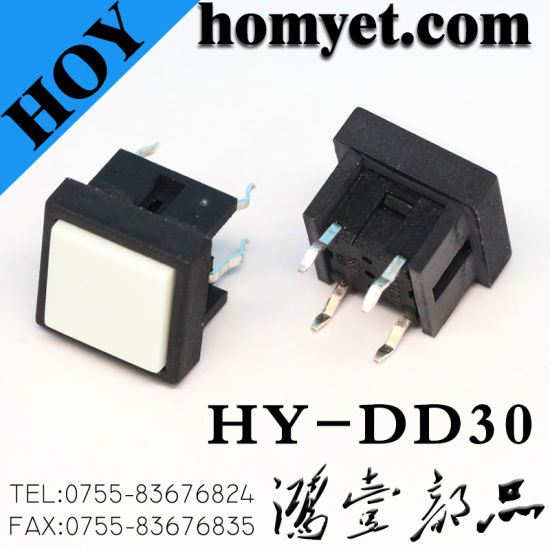 Illuminated Tactile Switch Lamp Series 6*6 LED Built-in Type Light Tact Switch pictures & photos