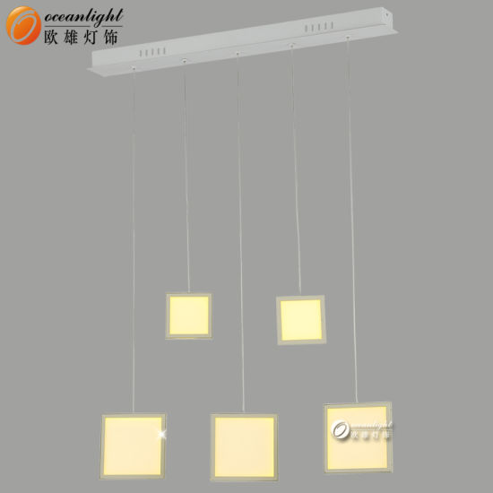 Hot Sale LED Pendnat Lamps Decorative Coffee Golden Lamps for Home/ Hotel Om66153 pictures & photos