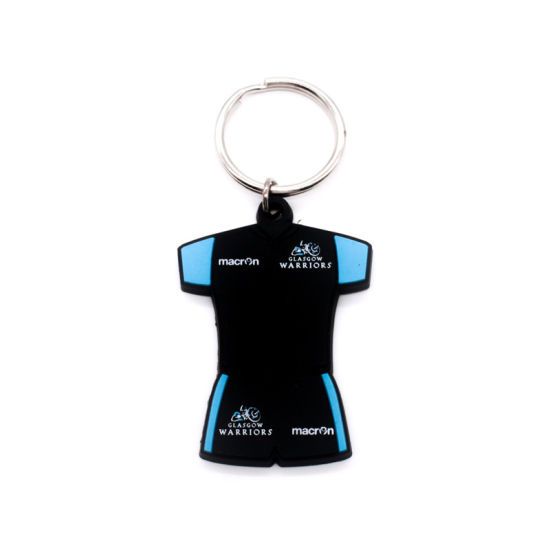 EVA Key Chain Sport Souvenir Gift Craft Supply Design Diamond Flexible Rubber pictures & photos