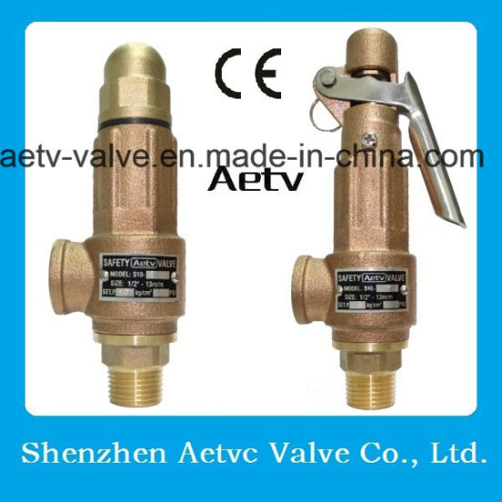 Aetv Ce Bronze /Stainless Steel Safety Valve