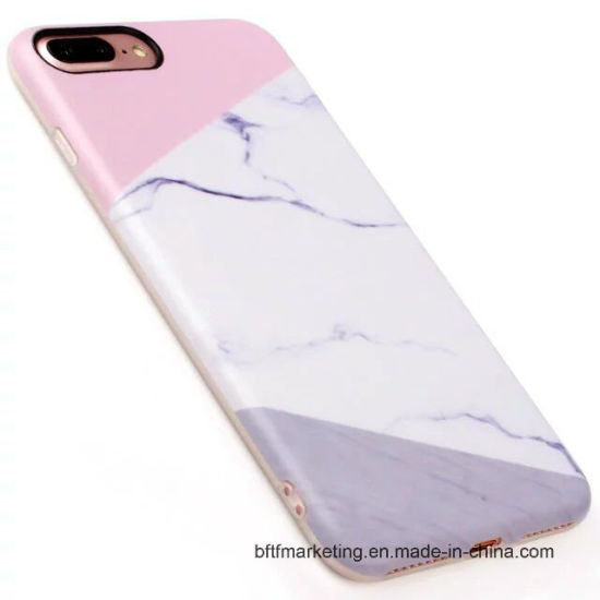 Marbled IMD Unique Mobile Phone Case for iPhone 7/7plus pictures & photos