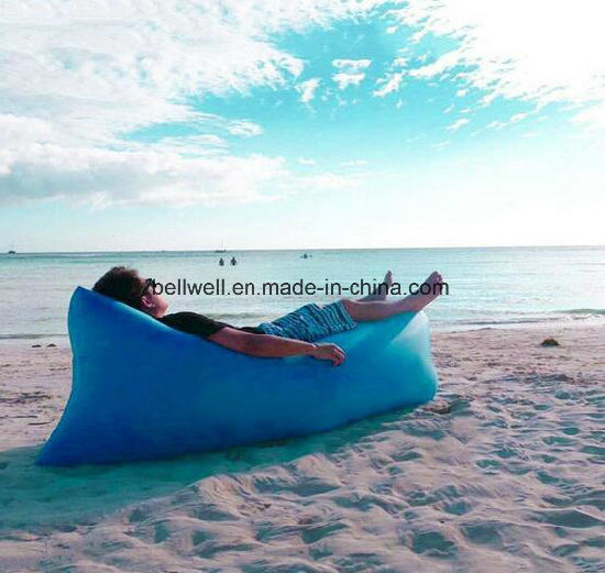 Super Inflatable Lounger Portable Air Beds Sleeping Sofa Couch For Travelling Camping Beach Park Backyard Bralicious Painted Fabric Chair Ideas Braliciousco