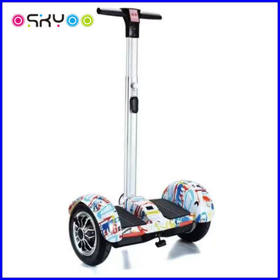 Smart Balance Two Wheel Electric Scooter 10 Inch with Handle pictures & photos