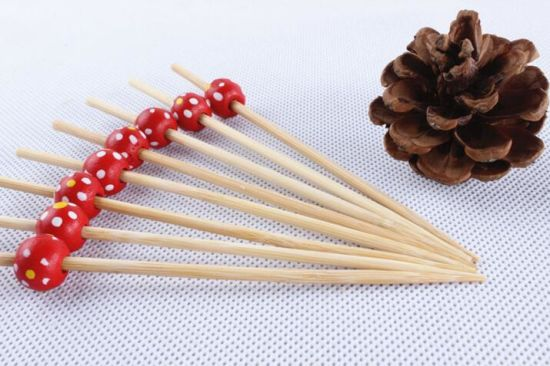 Good-Looking Barbecue Tool Bamboo Fruit Skewer/Stick/Pick (BC-BS1046)