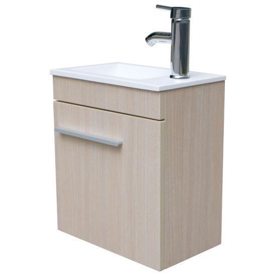 China Wood Color 16 Bathroom Vanity, Bathroom Vanity Vessel Sink Combo