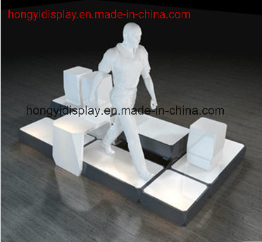 Shopfront with Mannequins for Retail Shop