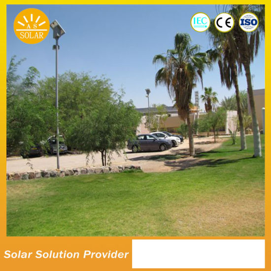 High Power Solar LED Lights with Pole Lighting System pictures & photos