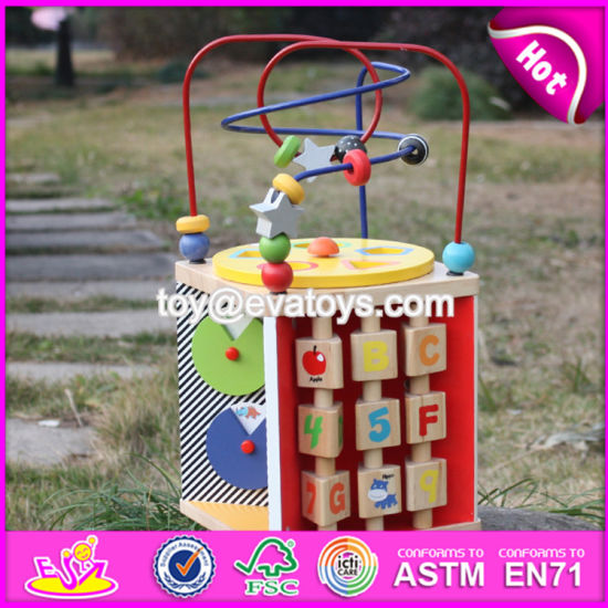 New Design Funny Children Wooden Beads Toy W11b090 pictures & photos