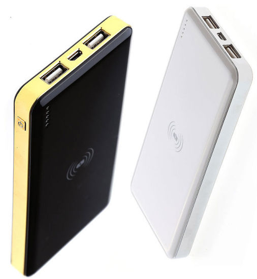 10000mAh Dual Port USB Charger Portable External Battery Smart Power Bank pictures & photos