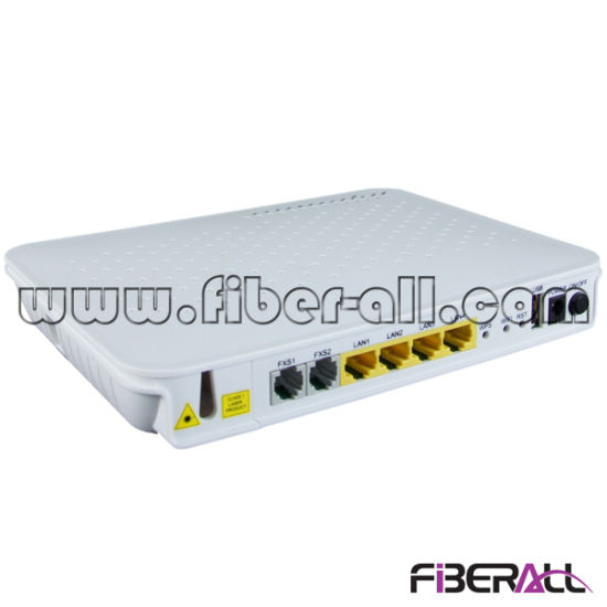 1.25g FTTH ONU for Epon with 1ge 3fe 2pots and WiFi pictures & photos
