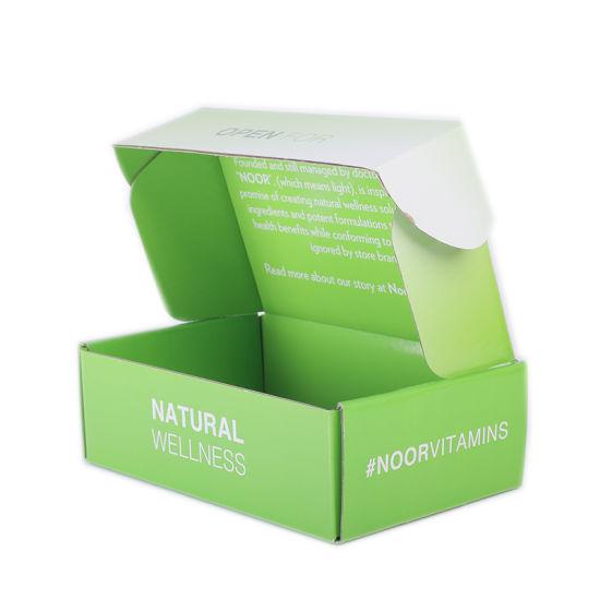 Folded Custom Printed Glossy Paper Box
