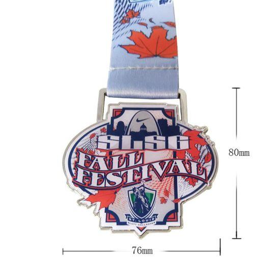 Custom 3D Miraculous Marathon Run Sport Medal
