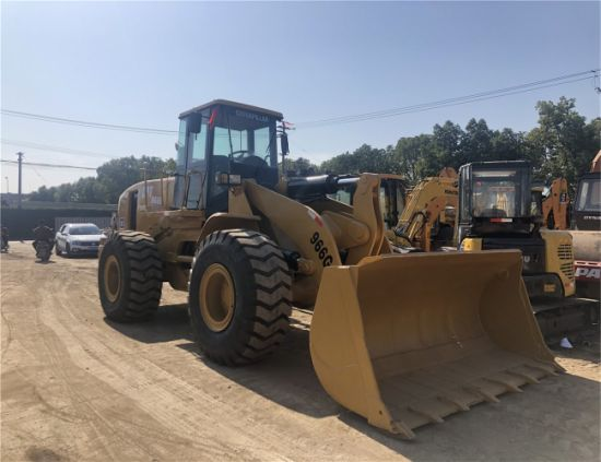 Used 85% Brand New Caterpillar 966g Wheel Loader in Perfect Working Condition with Reasonable Price. Secondhand Cat Wheel Loader 966c, 966f, 966h on Sale.