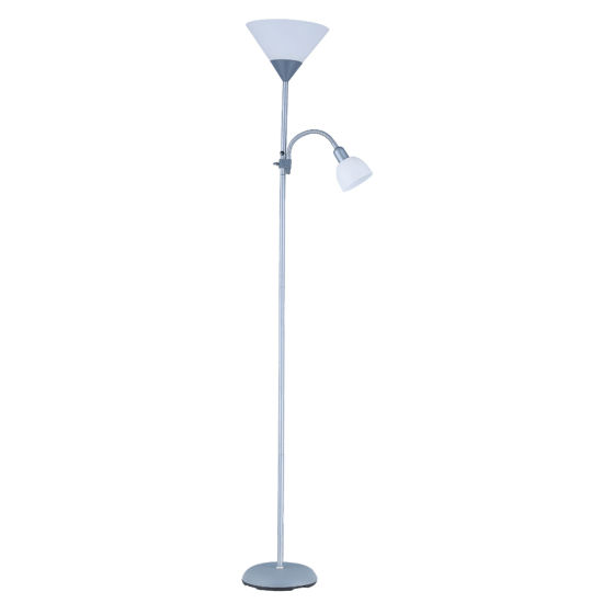 White Plastic Lamp Shade Floor Lamp Indoor Lighting/LED/Decoration Lamp