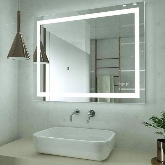 China Wholesale Modern Smart Lighted Beauty Salon Lighting IP44 Bathroom LED Mirror
