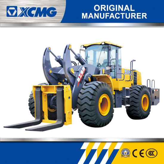 XCMG Official 25 Ton Wheel Loader Lw600kn-T25 Stone Mining Fork