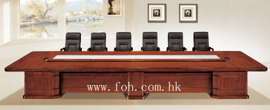 China Classic Office Furniture Wood Veneer MDF Conference Table - Wood veneer conference table