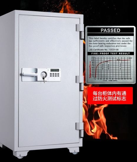 1 Hour Fireproof 1130mm Height Safe Deposit Box for Home Office