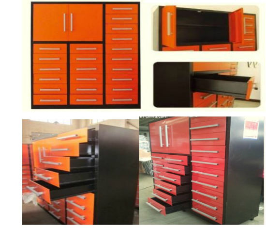 Big Work Boxes, Work Tables With Drawers And Wheels