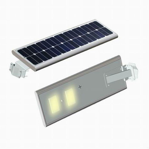 100watts All in One Solar Street LED Light with Cleaning Camera