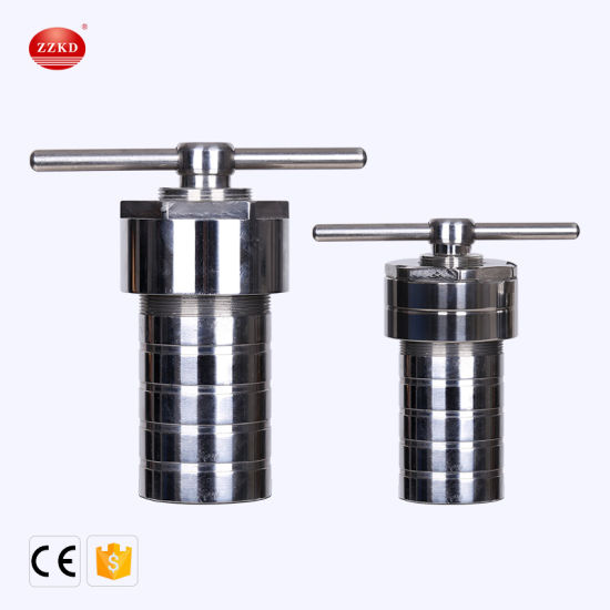 304 Stainless Steel 3MPa Teflon Lined Hydrothermal Synthesis Autoclave Reactor