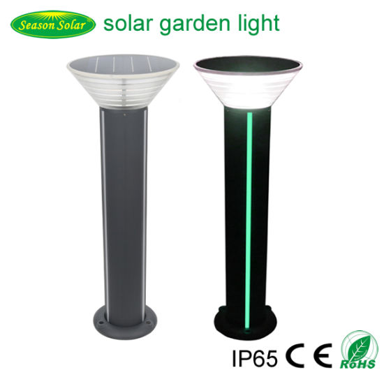 Pathway Christmas LED Strip Lighting Outdoor Decorative Solar Garden Bollard Light