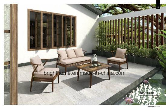 Wicker Patio Aluminum Sofa Set Outdoor Furniture