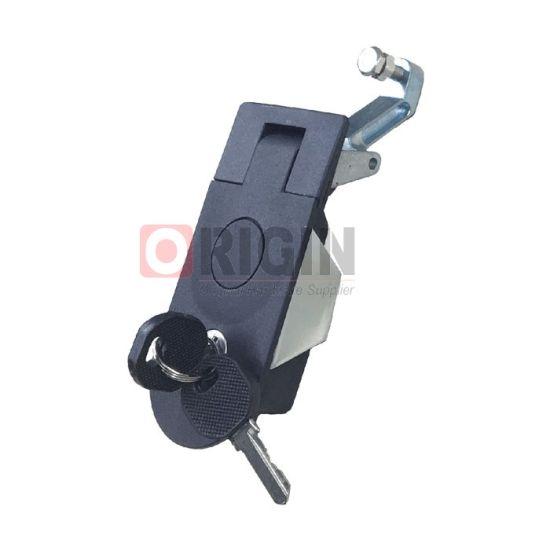 Ms609 Compression Flush Latch Push Button Flat Lever Door Latch Lock