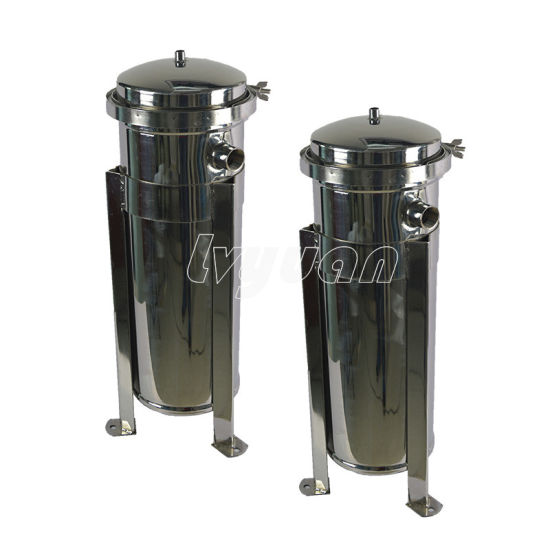 Stainless Steel Bag Filter Housing /Water Filter for Pharmaceutical Industrial Liquid Filtration