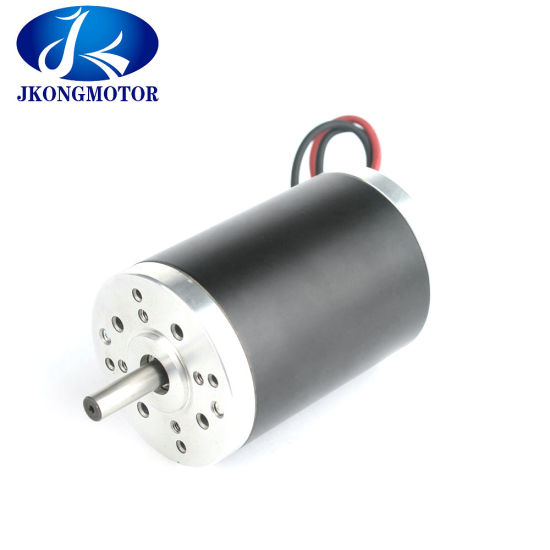 90mm Brush DC Motor Electric DC Motor 24V with Factory Price pictures & photos