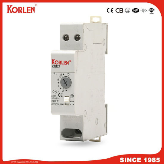 Korlen DIN Rail Delay off Without Supply Power Time Relay 2000W Industrial Control Auto Timer Relays Time Delay