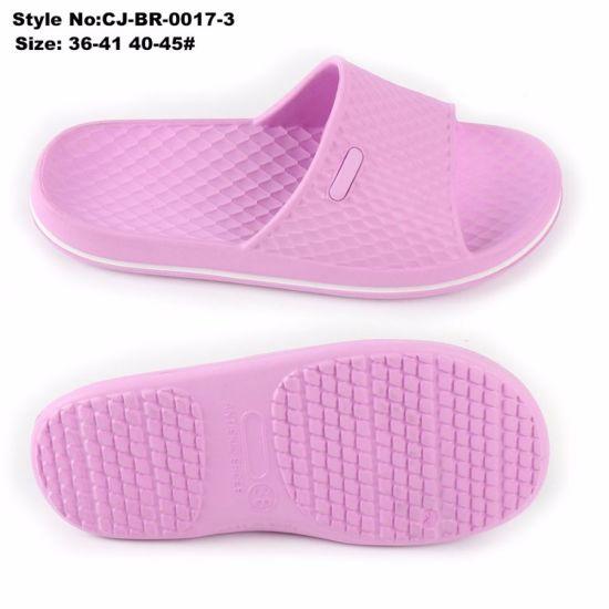 Cheap Wholesale Fancy EVA Sole Slippers Indoor Slide Sandal