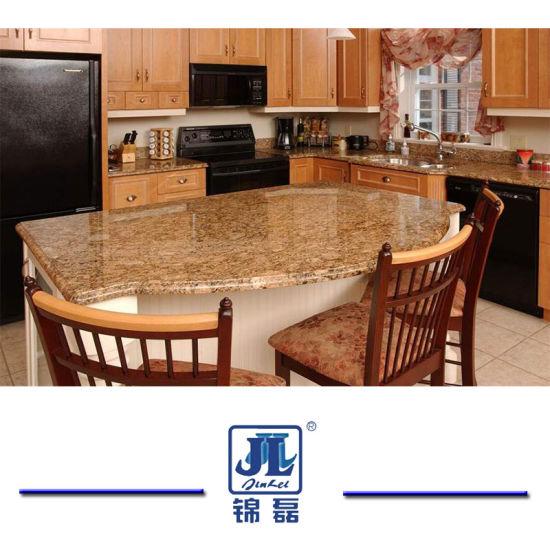 Natural Polished Giallo Veneziano Granite Countertop For Indoor Decoration/  Kitchen Countertop