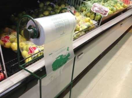 Plastic Flat Bag on Roll / Packing Bag on Roll / Promotional Bag